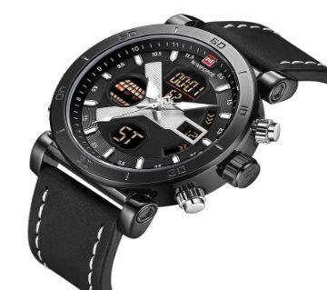 NAVIFORCE NF9132 Waterproof Wrist Watch  for Man (Black)
