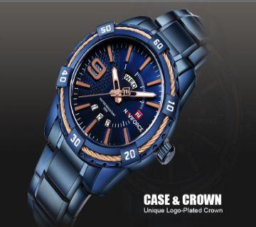 NAVIFORCE Luxury Brand Mens Sport Watch