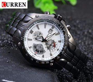 CURREN 8083 Famous Brand Men Full Steel Wrist Watches
