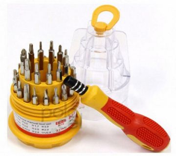 31 In 1 Screw Driver Set Magnetic Toolkit 768