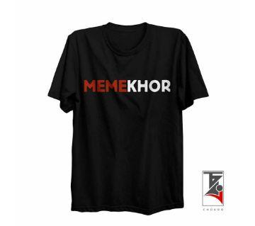 MK Half Sleeve Round Neck T Shirt For Men
