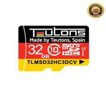 TEUTONS MicroSD Memory Card 32GB