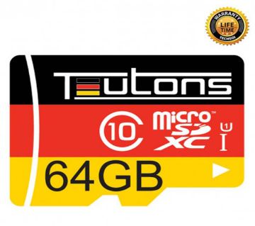 TEUTONS MicroSD Memory Card 64GB