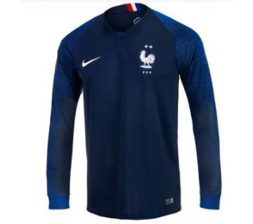 France Full Sleeve Home Jersey-copy