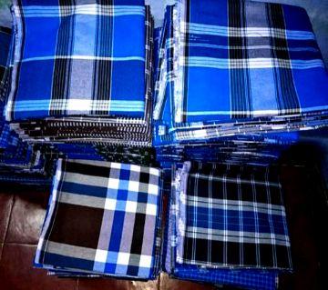 Sirajgonj cotton lungi 15 pcs pack for zakath
