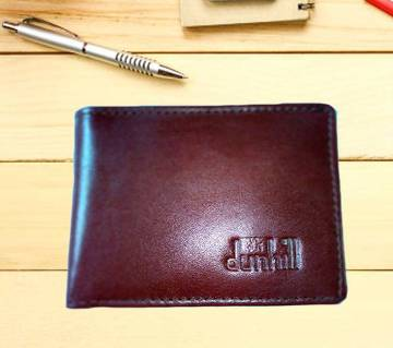 Dunhill money bag chocolate color for men