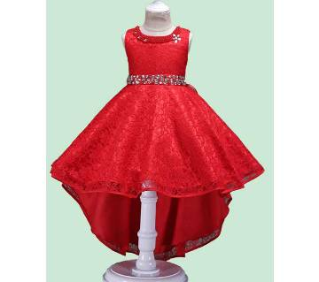 Cotton Frock For Girl Kids - S