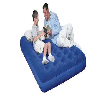 Double Air Inflatable Bed with Pumper