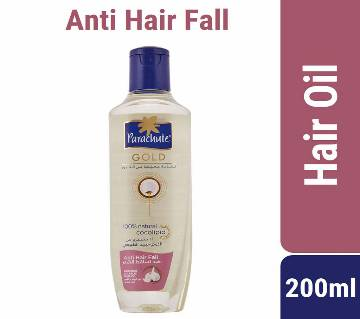 Parachute Gold Hair Oil Anti Hair Fall Coconut & Garlic - 200ml