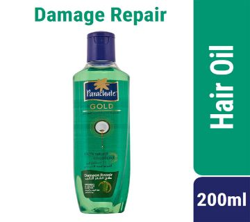 Parachute Gold Hair Oil Damage Repair Coconut & Cactus - 200ml