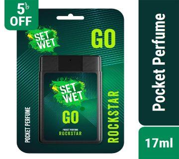 Set Wet Go Pocket Perfume Rockstar 17ml