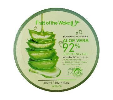 Fruit of the Wokali 92% Aloe vera gel  (300ml) China