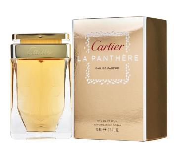 CARTIER LA PANTHARE WOMEN 75ML import from dubai