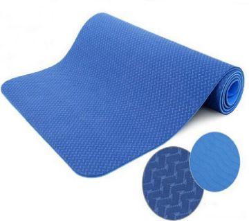 Yoga Mat - Thick Eco Friendly Premium TPE Yoga Mat. Non Slip, Reversible, Lightweight, Durable Exercise Pilates Mat. 72x24