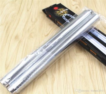 Stainless Steel Nanchaku for Bruce Lee Style Fight Martial Arts Training