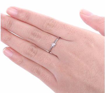 Little Heart Thin AAA+CZ Rings For Women