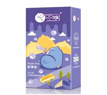 10pcs thin  Rubber Natural Latex Condoms