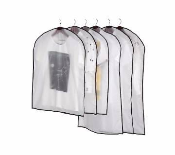 1Pcs Zipper Waterproof Suit Coat Protector Wardrobe Clothes Organizer