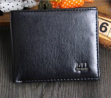 Mini Coin Pocket  Leather Multi-layer Wallet