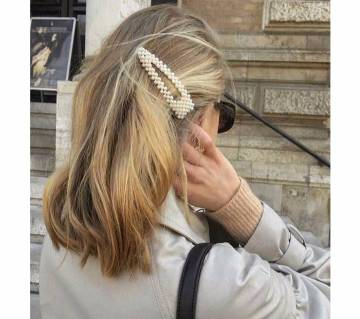 Pearls Hair Clips for Women