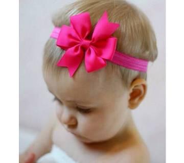 5pcs Baby Head Bands Toddler Girl Swallowtail Bow Elastic Hair Bands