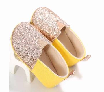 Summer Infants  Soft Sole Cotton Shoes Newborn Girl