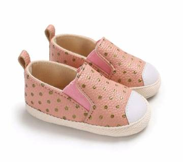 PU Leather BabyGirl Cute Soft Anti-slip Shoes