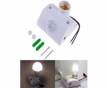 Infrared Motion PIR Sensor Automatic LED Light Lamp Holder
