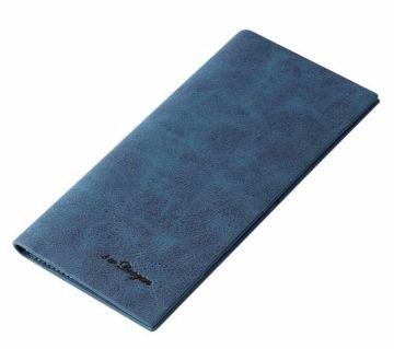 Luxury Leather Long Slim Wallets For Men