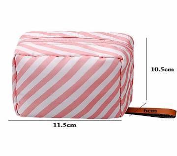 Portable Mini Cute Cosmetic Zipper Makeup Organizer Bag
