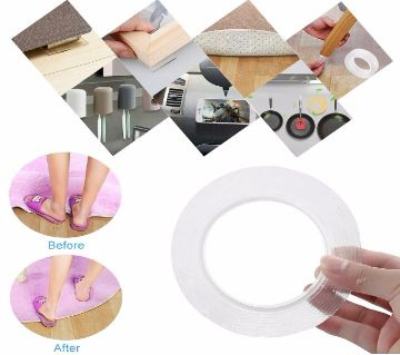 3 Meter Double Sided Reusable Waterproof Adhesive Removable Washable Tape