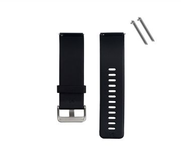 20mm Soft Silicone Watchband  Replacement Watch Straps
