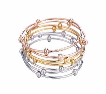 7 Pcs Stainless Steel  Bracelets & Bangles For Women