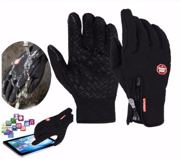 Cycling Warm Soft Touch Screen Running Hiking Skting Gloves
