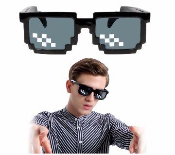 Thug Life Boss Star Pixel Sunglasses For Men