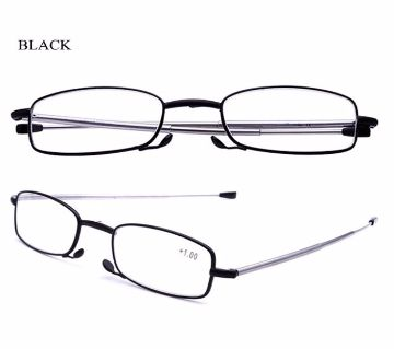 Folding Frame Anti blue light Antenna Reading Glasses With 1+ Power Added