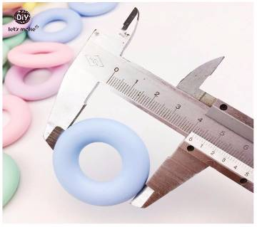 5pcs Silicone Rings toy for Children