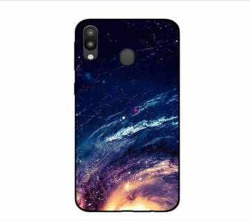 Starry Gradient Tempered Glass Phone Case For Sumsung M20
