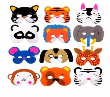 12Pcs Cute Funny EVA Animal Masks For Children