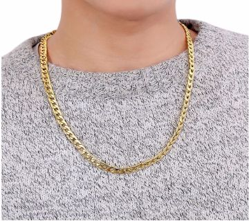 Curb Link Hip Hop Stainless Steel Necklace For Men