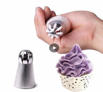 Stainless Steel  Icing Piping Nozzle Pastry Tips Fondant Cupcake Baking Kitchen Accessories