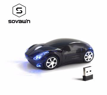 Car Shape Wireless Mouse USB Receiver 1200 DPI 2.4G Gaming