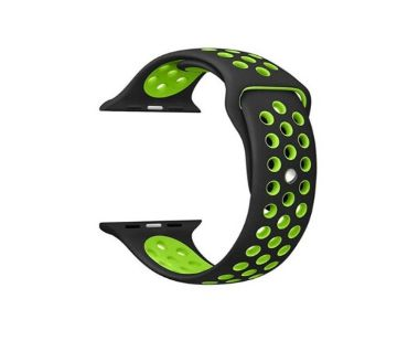 Silicone Soft  Breathable Straps for Apple watch 5 4 3 2   (42mm/44mm)
