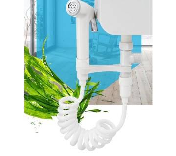 Body Cleaning Spray Head Toilet Water Gun Booster Shower Toilet Tank Spray Gun Set