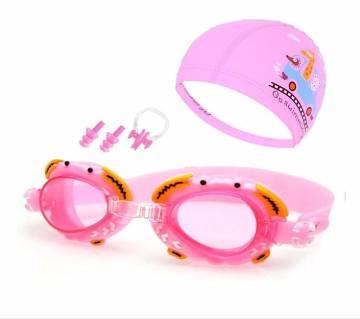 3 PCS Anti-fog Waterproof Swimming Goggles for Children