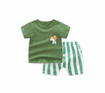 100% Cotton 2Pcs/set Baby Boy