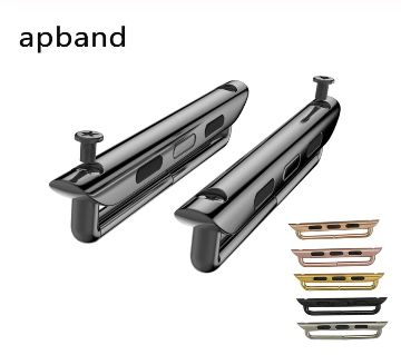 42MM /44MM Stainless Steel Straps band Connector adapter Buckle For Apple Watch Series 3 / 1/2/4/5