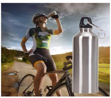 500ml Sport Water Bottle Large capacity Portable Stainless Steel Wide Mouth Drinking Outdoor Travel bottle