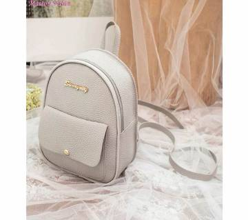 Leather Shoulder Bag For Multi-Function Small Backpack Female Phone Pouch