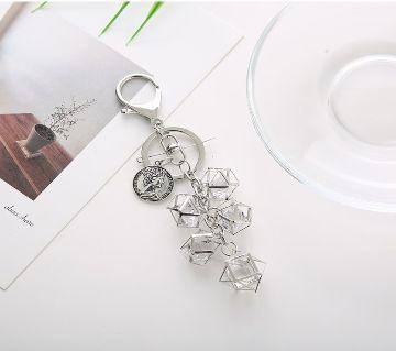 Geometric Cute Key Chain for Bag,Keys